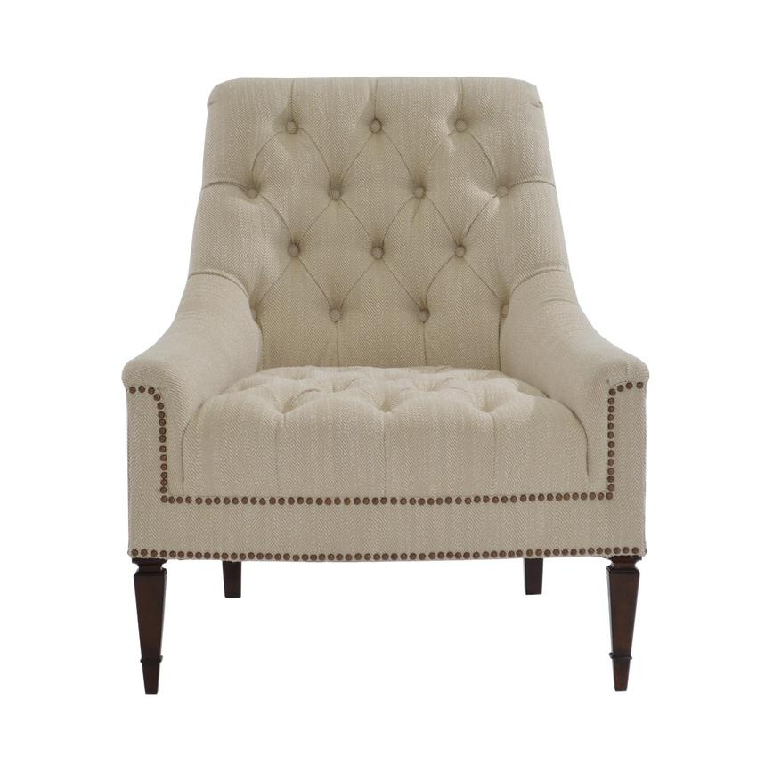 Captivating Kimberly Cream Accent Chair Alternate Image, 4 Of 9 Images.
