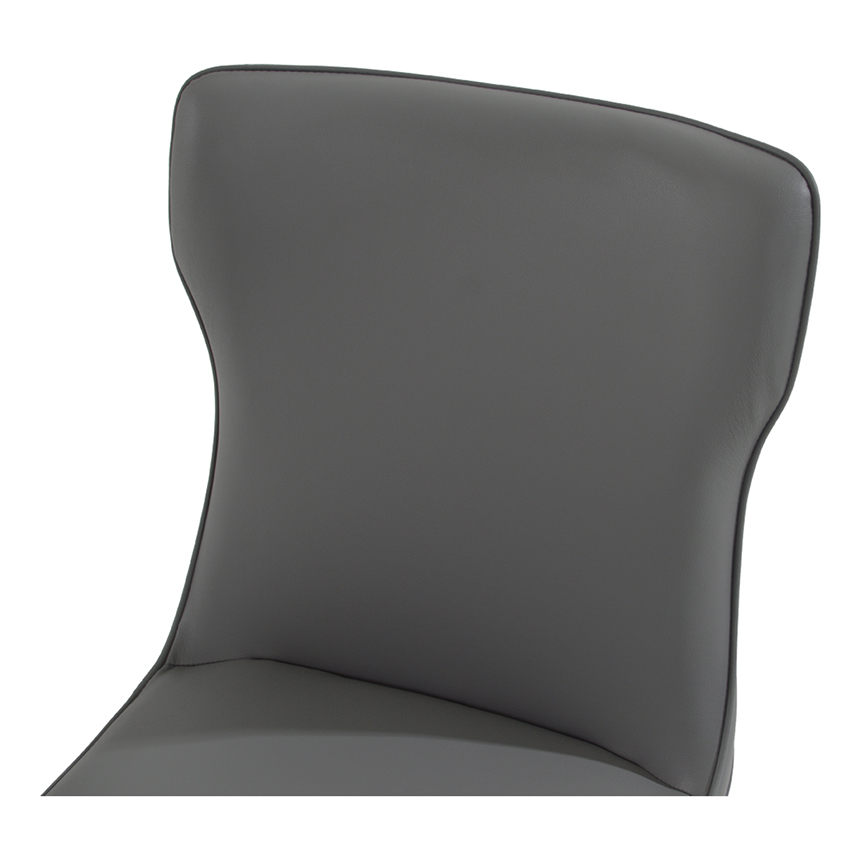 Onyx Gray Side Chair  alternate image, 3 of 5 images.