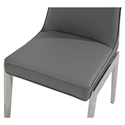 Onyx Gray Side Chair  alternate image, 4 of 5 images.
