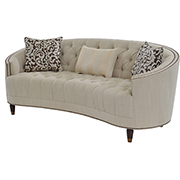 Kimberly Cream Sofa  main image, 1 of 9 images.
