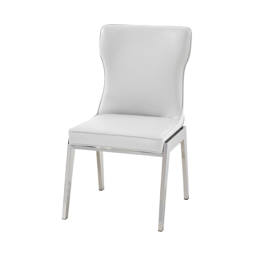 Onyx White Side Chair  alternate image, 3 of 5 images.