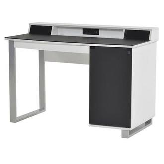 Ralf White Desk w/Speakers