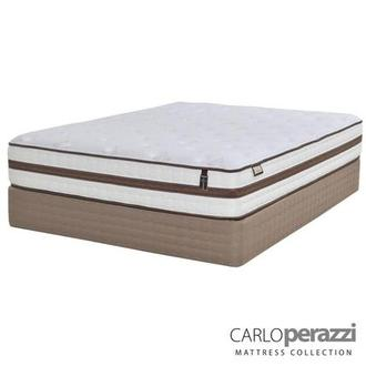Alessandria Queen Mattress Set w/Low Foundation by Carlo Perazzi