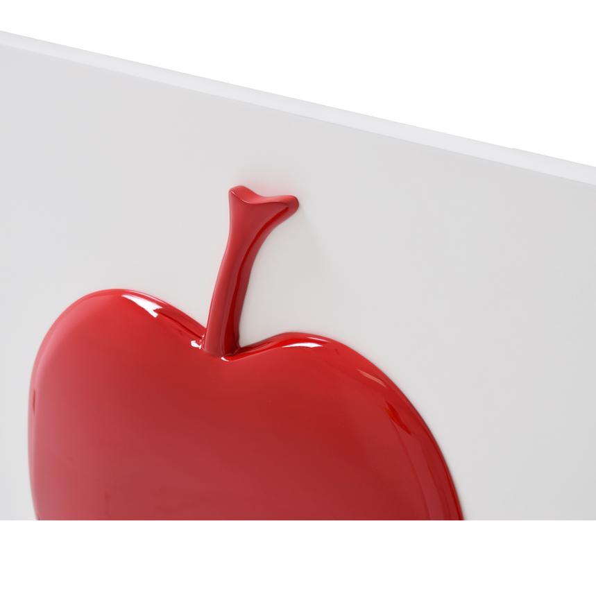 Red Apple Wall Decor | El Dorado Furniture