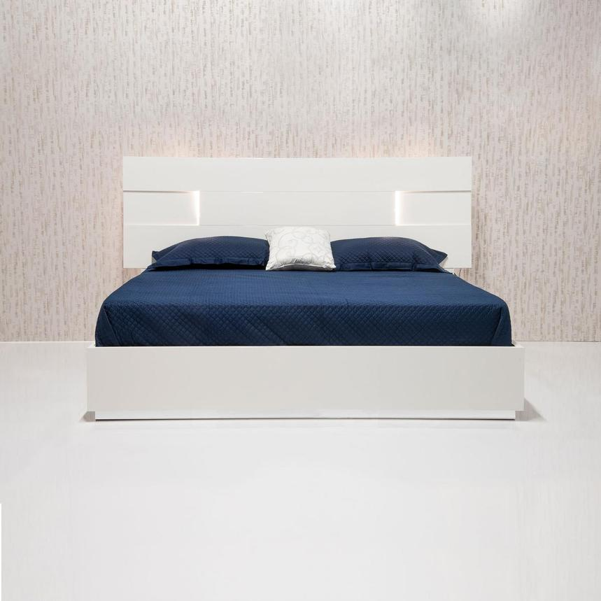Ava Queen Platform Bed Made in Italy  alternate image, 8 of 12 images.