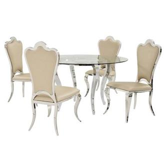 Letticia/Mariana 5-Piece Casual Dining Set