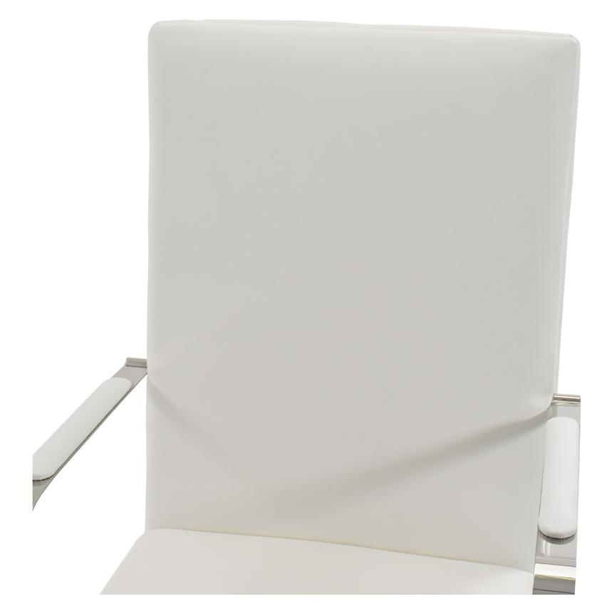 Ulysis White Arm Chair  alternate image, 3 of 6 images.