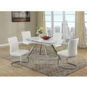 Alina Gray 5-Piece Casual Dining Set  alternate image, 2 of 9 images.