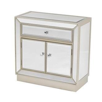 Merveilleux Uribia Mirrored Cabinet