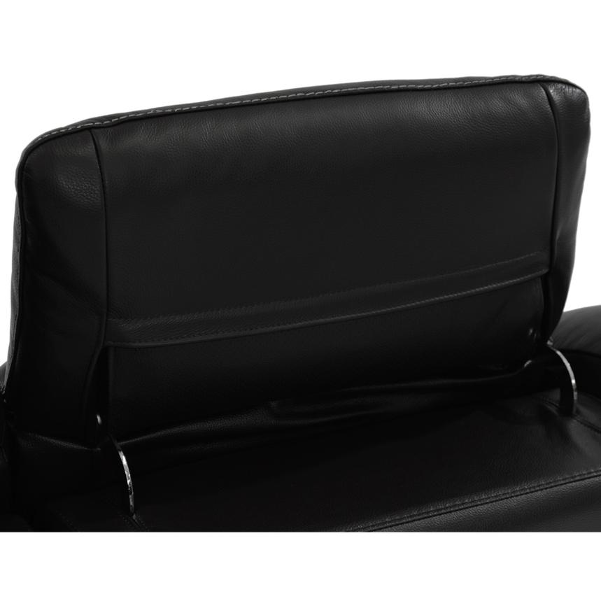 Davis Black Power Motion Leather Sofa w/Right & Left Recliners  alternate image, 8 of 11 images.
