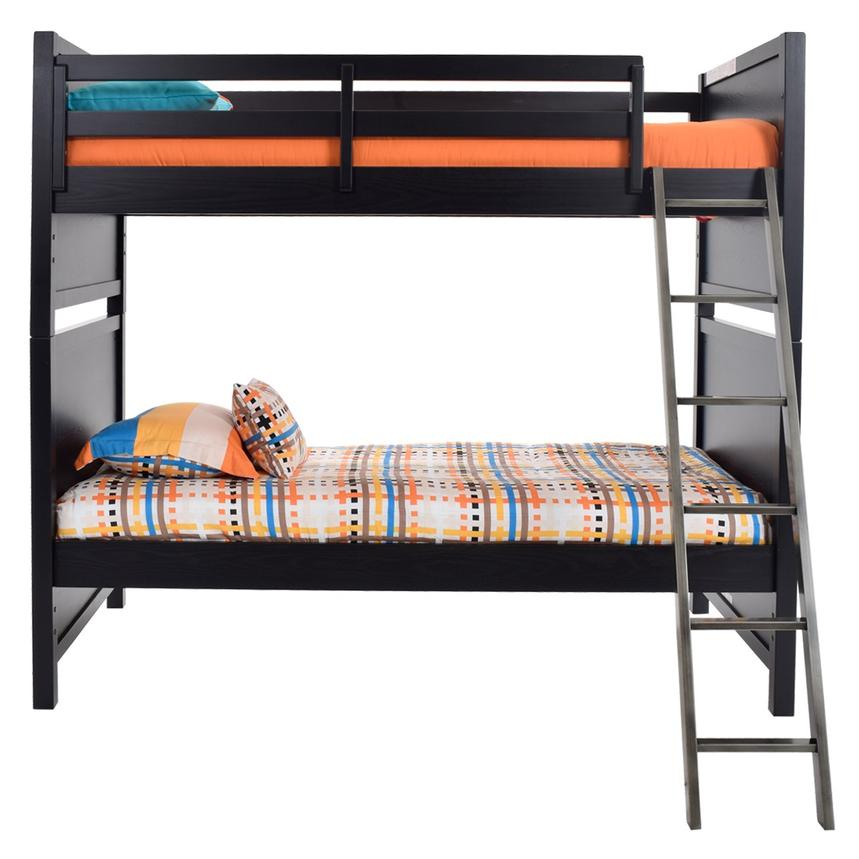 Graphite Twin Over Twin Bunk Bed  alternate image, 4 of 8 images.