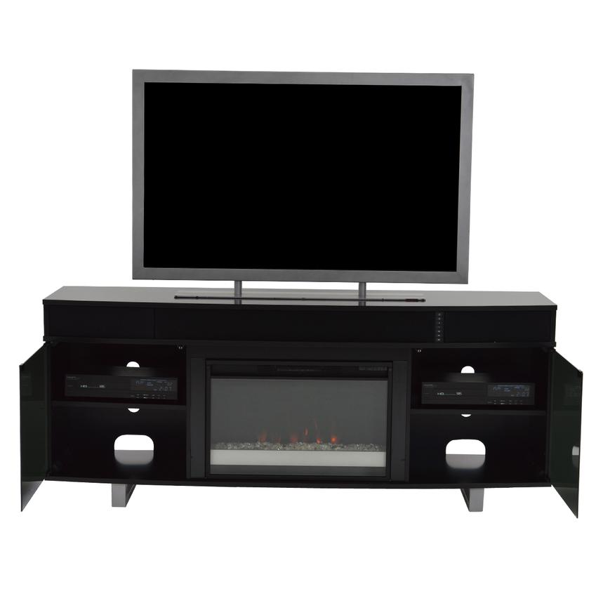 Enterprise Black Wall Unit w/Speakers  alternate image, 4 of 13 images.