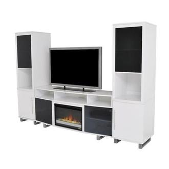 Enterprise White Wall Unit