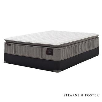 Oak Terrace IV Full Mattress Set w/Low Foundation by Stearns & Foster