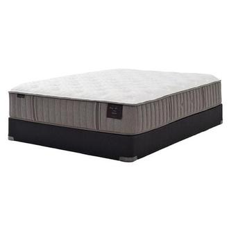 Scarborough II Queen Mattress Set w/Low Foundation by Stearns & Foster