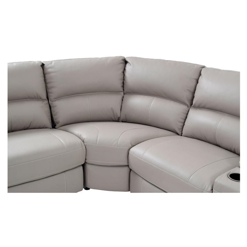 Camillo Gray Power Motion Sofa w/Right & Left Recliners  alternate image, 4 of 6 images.