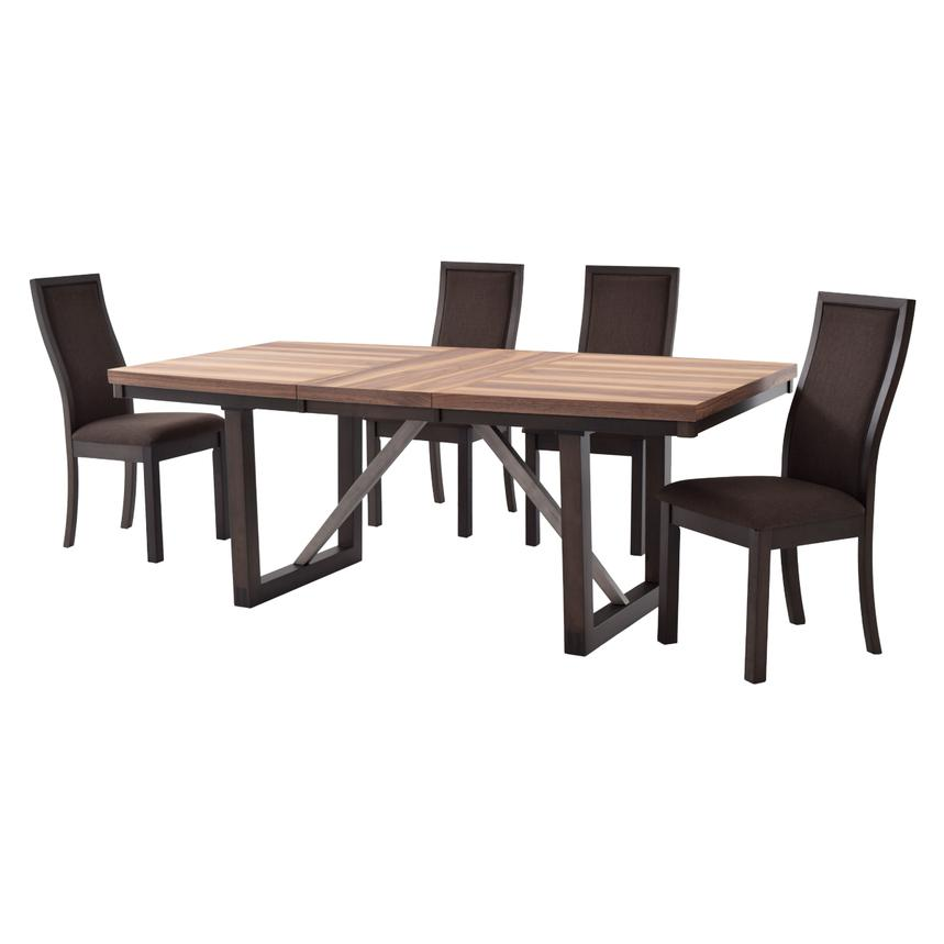 Ton-Ton 5-Piece Casual Dining Set  alternate image, 3 of 13 images.