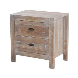 Montauk Natural Nightstand Made in Brazil