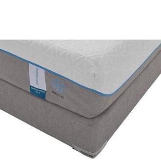 Cloud Supreme Breeze Memory Foam Queen Mattress Set w/Regular Foundation by Tempur-Pedic