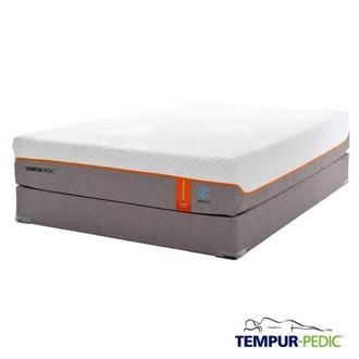 Contour Elite Breeze Memory Foam Queen Mattress Set w/Regular Foundation by Tempur-Pedic