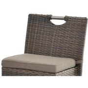 Neilina Brown 3-Piece Patio Set w/ Ice bucket  alternate image, 8 of 10 images.