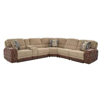 Manda Power Motion Sofa w/Console