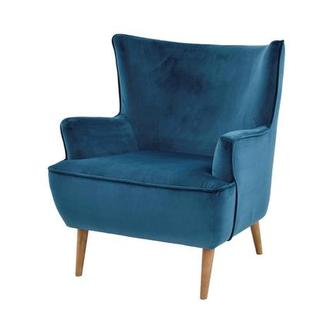Zita Blue Accent Chair