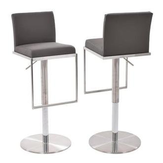 Brisa Gray Adjustable Stool