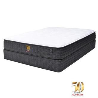 50th Anniversary Soft Queen Mattress Set w/Low Foundation by Carlo Perazzi