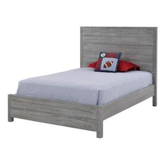 Montauk Gray Twin Bed Made in Brazil