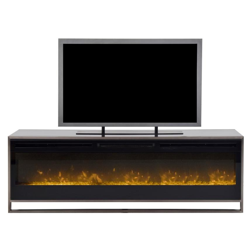 Metro Lights Faux Fireplace El Dorado Furniture