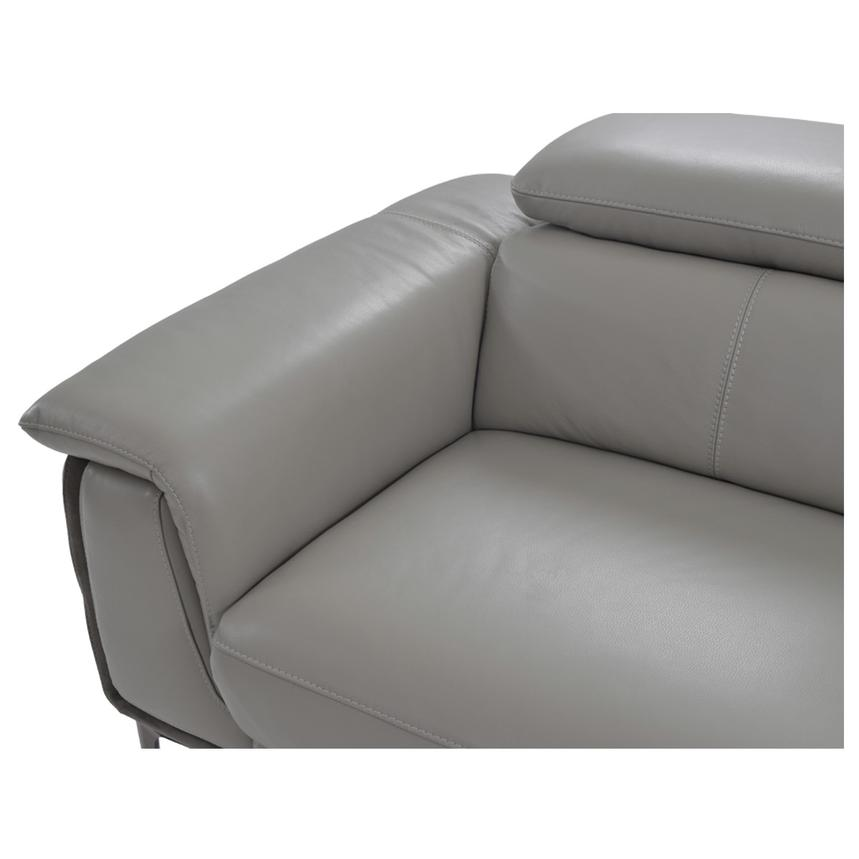 Richardson Power Motion Leather Sofa w/Right Chaise  alternate image, 4 of 8 images.