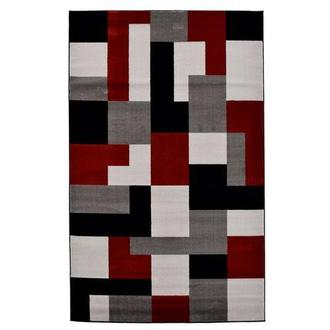 Platinum 5' x 8' Area Rug