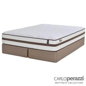Alessandria King Mattress Set w/Regular Foundation by Carlo Perazzi