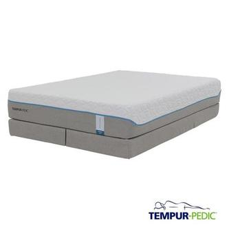 Cloud Supreme Memory Foam King Mattress Set w/Low Foundation by Tempur-Pedic