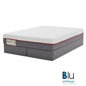 Velano 2.0 King Mattress Set w/Regular Foundation By Blu Sleep Products