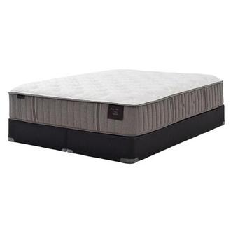 Scarborough II King Mattress Set w/Low Foundation by Stearns & Foster