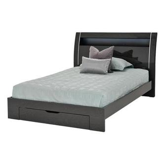 Benton Gray Full Storage Bed