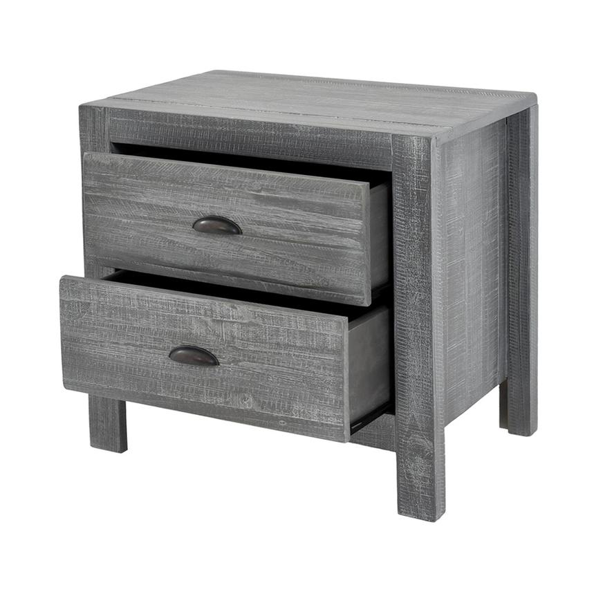 Montauk Gray Nightstand Made in Brazil  alternate image, 3 of 7 images.