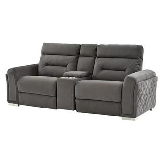Kim Power Motion Sofa w/Console