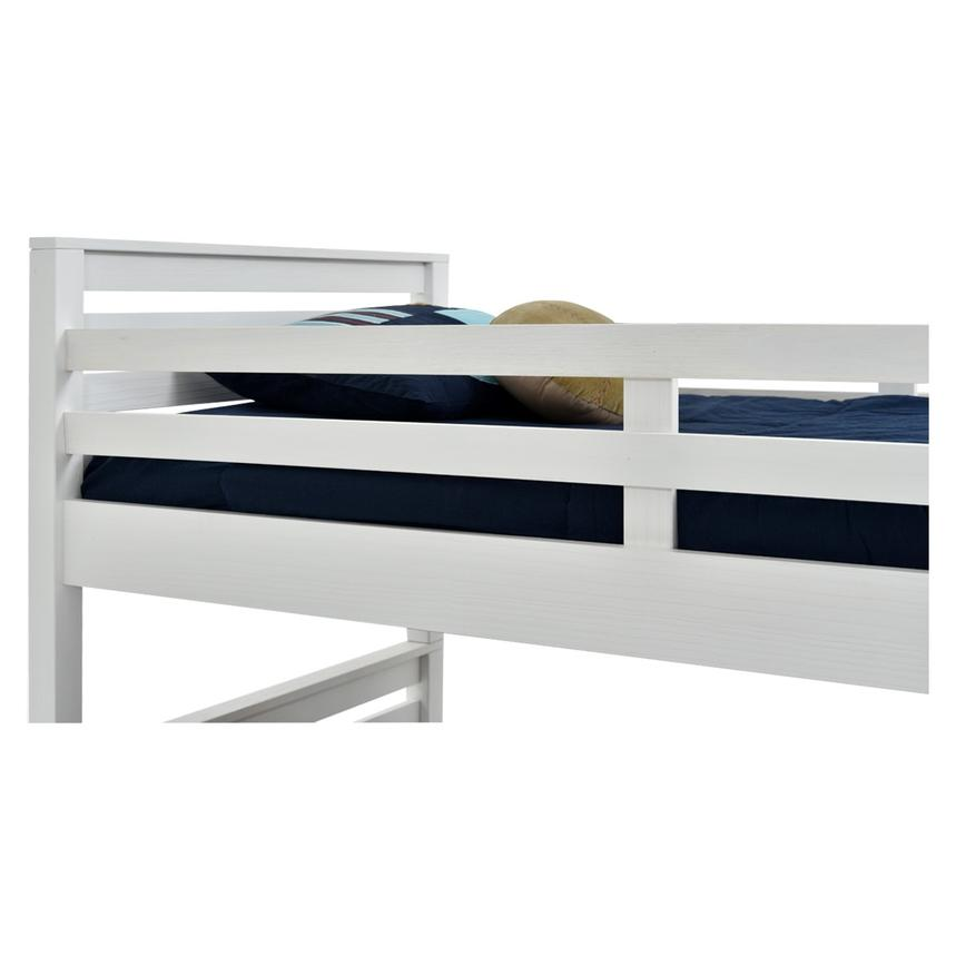 Montauk White Twin Over Full Bunk Bed Made in Brazil  alternate image, 3 of 7 images.