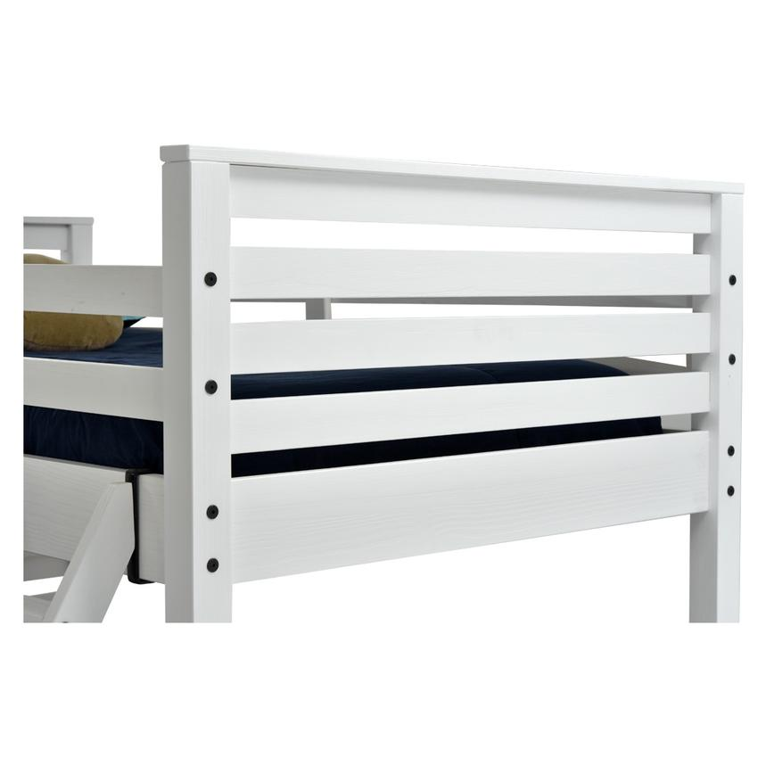 Montauk White Twin Over Full Bunk Bed Made in Brazil  alternate image, 4 of 7 images.