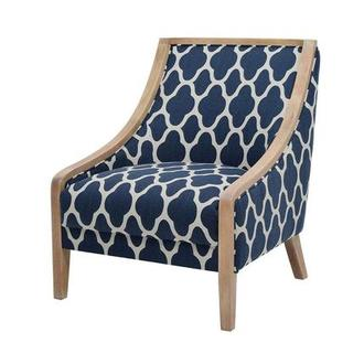 Gia II Blue Accent Chair