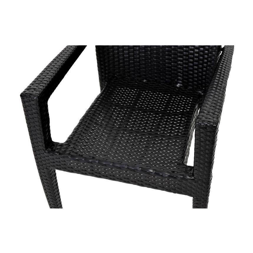 Neilina Black 3-Piece Patio Set  alternate image, 9 of 11 images.