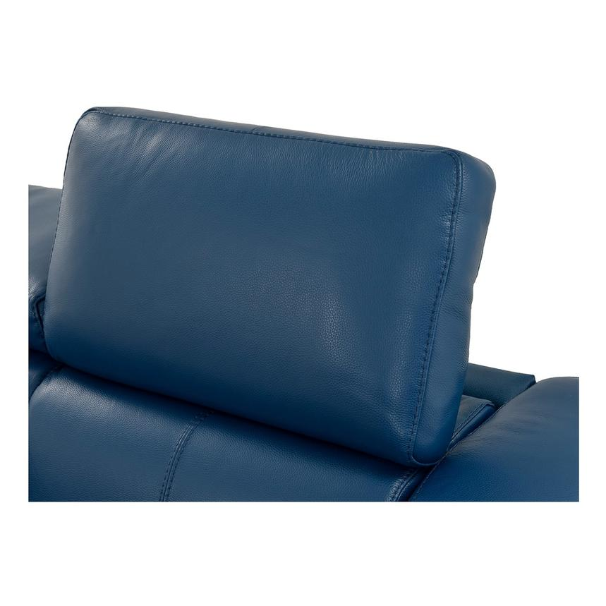 James Blue Power Motion Recliner Leather Sofa  alternate image, 8 of 10 images.