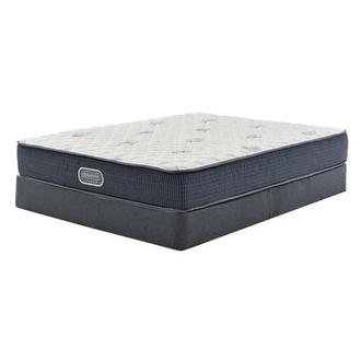 Pacific Heights Twin Mattress w/Regular Foundation by Simmons Beautyrest Silver