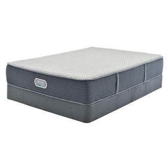 Marshall HB Full Mattress w/Low Foundation by Simmons Beautyrest Silver