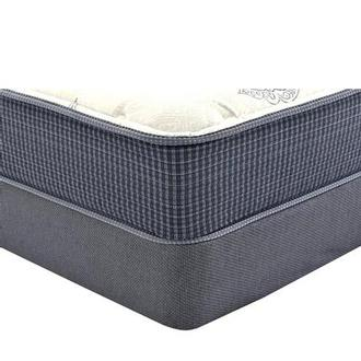 Ocean Springs Twin Mattress w/Regular Foundation by Simmons Beautyrest Silver