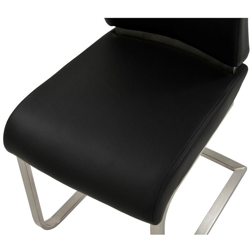 Maday Black Side Chair  alternate image, 4 of 5 images.