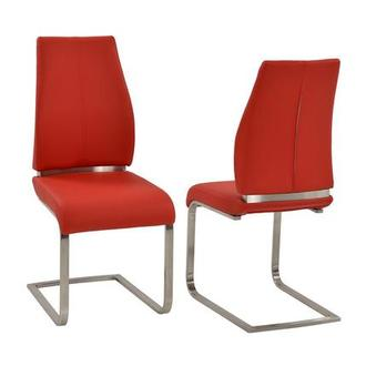 Maday Red Side Chair